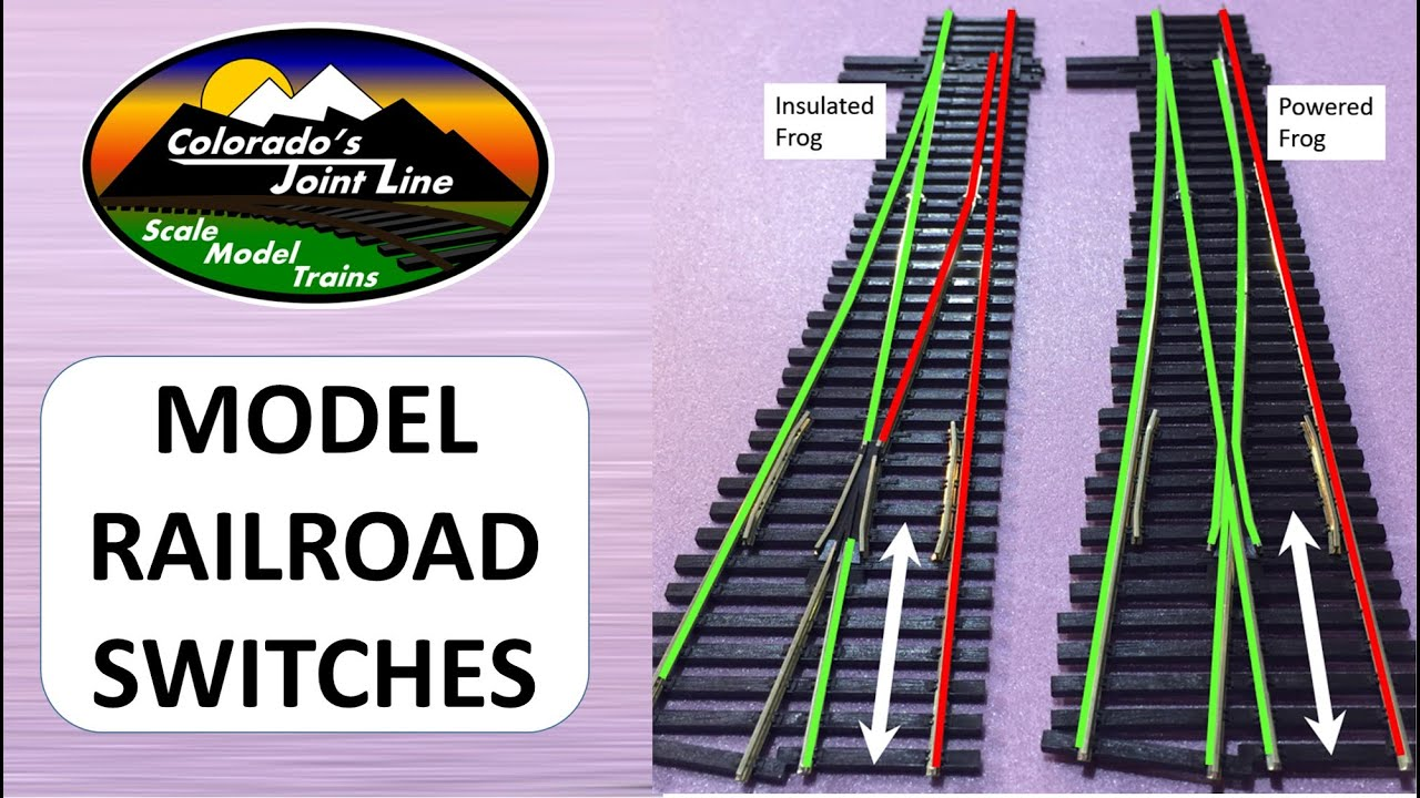 Peco Insulfrog Vs Electrofrog Model Railroad Switches Youtube Turnout Switch Dcc Wiring Track