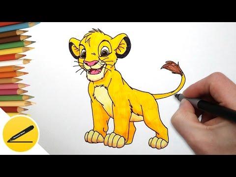 Как нарисовать хранителя льва