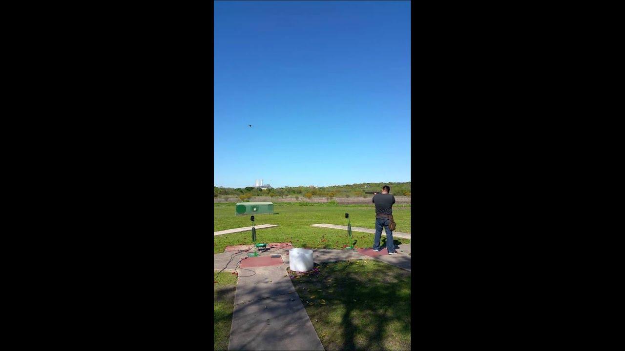 Trap Shooting At San Antonio Gun Club Youtube