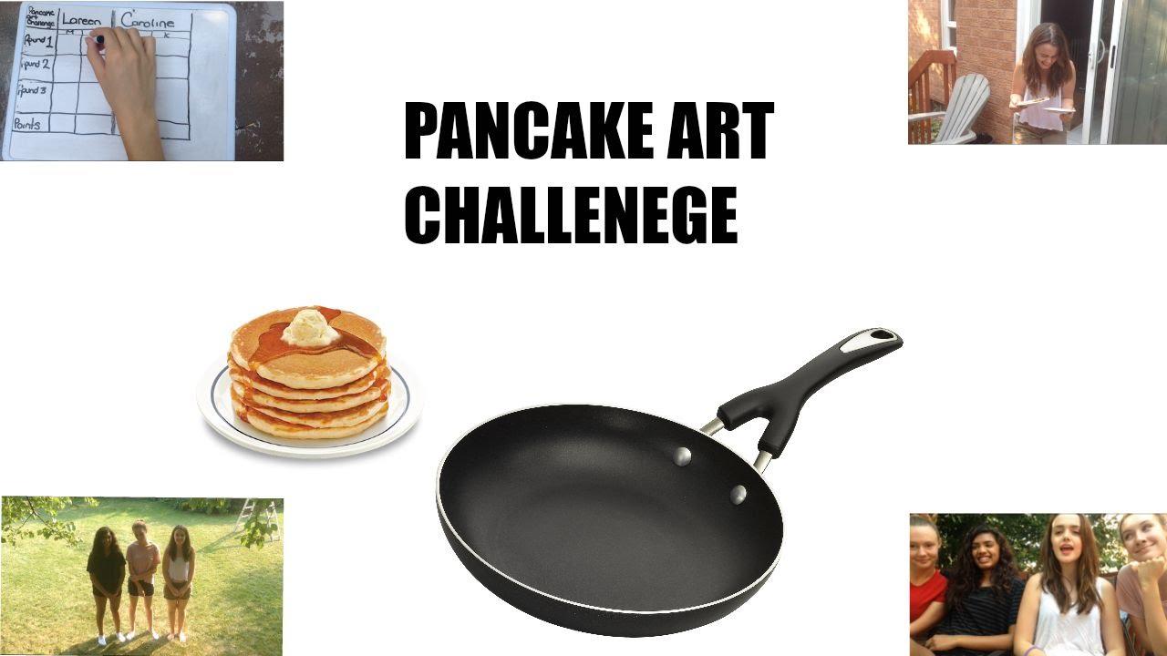 Pancake Art Challenge : PANCAKE ART CHALLENGE!!! - YouTube