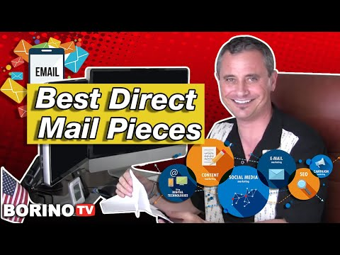 Borino's real estate marketing tips - Best direct mail pieces