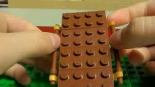 how to make a Lego casket