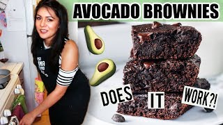 AVOCADO BROWNIES?! Does it Work?!?!  | Tasty Tuesday