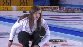 CURLING: WWCC 2013 Playoff 3v4 CAN vs USA - HIGHLIGHTS