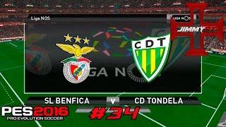 PES 2016 T3 Rumo ao Estrelato #34 Liga NOS Benfica vs Tondela