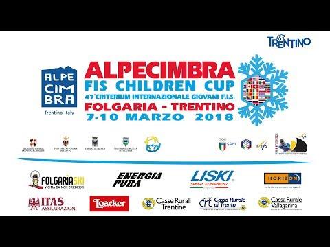 Alpe Cimbra FIS Children Cup slalom CHI 2 2run #live #sci #sport