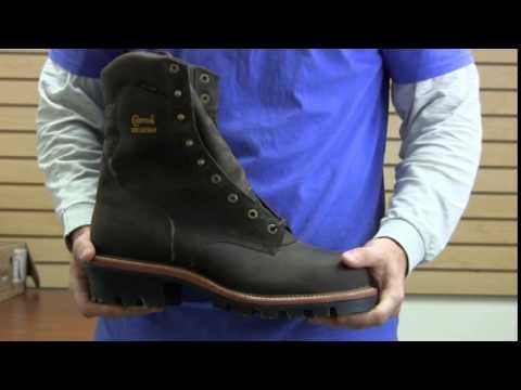 Chippewa 9 Inch Bay Apache Waterproof Steel Toe Super Logger 25407