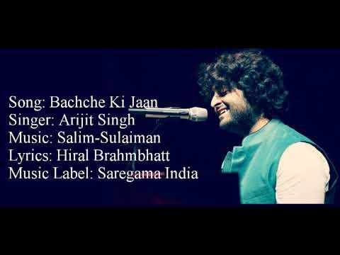 """BACHCHE KI JAAN LOGE KYA"" Full Song With Lyrics ▪ Arijit Singh ▪ 102 Not Out ▪ Amitabh B & Rishi K"