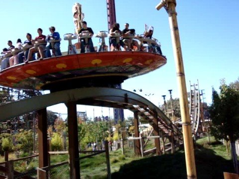 Great America Theme Park - Amazing Survivor Ride - YouTube
