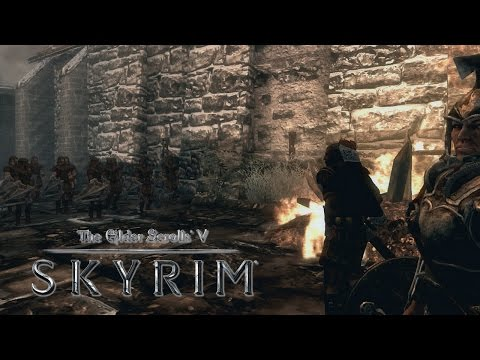 Skyrim - Imperial Civil War Questline - Full Playthrough (HD PS3 Gameplay)