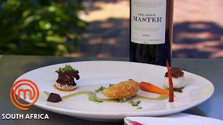Red Or White Wine With These Dishes?   MasterChef South Africa   MasterChef World