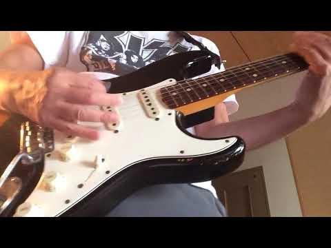 "Warren DeMartini  "" NEW WAYS TRAIN TRAIN / Jeff Beck Group ""  N# guitar on !!!"