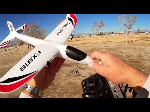 FX818 Pterosaur RC Glider Flight Test Review