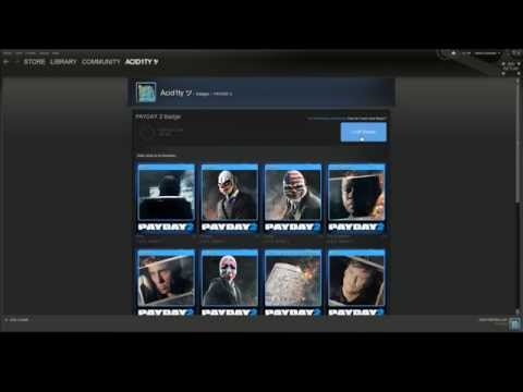 payday 2 steam badges
