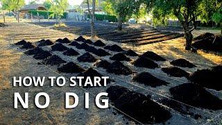 No Dig Gardening: How to Make a No Dig Garden Bed