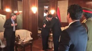وزير الخارجية للشؤون المغاربية والأفريقية الجزائري يختتم زيارته الى ليبيا بلقاء رئيس المجلس الرئاسي