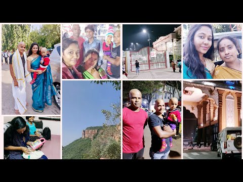 #Vlog || Tirumala Vlog || Appy's Head Tonsure & Thulabhaaram || Asha Sudarsan Telugu Vlogs