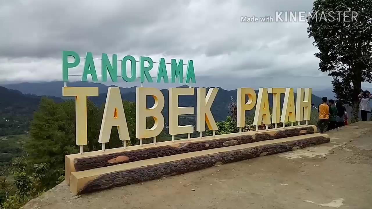 Panorama Tabek Patah, Objek Wisata Kabupaten Tanah Datar (Alam Minang Kabau)