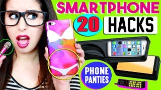 20 Smartphone, iPhone & Android Hacks For School | Phone Panties, Candy Stylus Pen & Mini Mic!(20 Smartphone, iPhone & Android Hacks For School & Life | Phone Panties, Candy Stylus Pen & Mini Microphone! SUBSCRIBE to Enter To Win A MACBOOK ..., 2016-11-10T23:45:10.000Z)