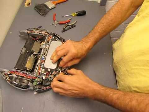 Roomba 4000 series teardown part one - YouTube