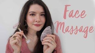 Yüz Masajı // Gua Sha vs. Face Roller 💆🏻♀ (ENG SUBS)