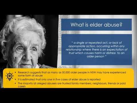 Financial Hardship And Elder Abuse