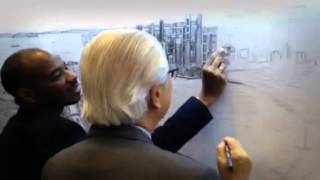 Teaching the President of Singapore how to draw