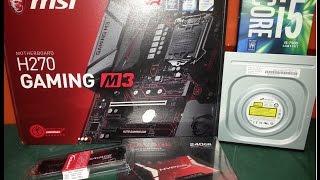 7 nesil pc h270 gaming m3 i5 7500 kaby lake 1151p