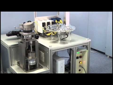 Wafer Handling System controlled by WMX (General Motion Controller)