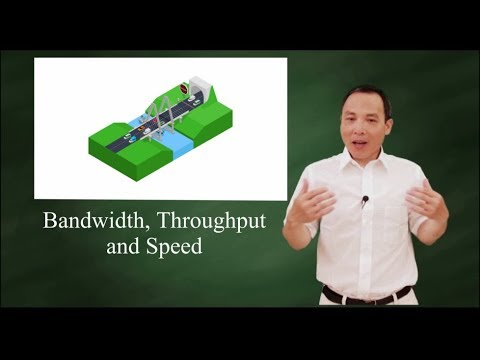Bandwidth, throughput, and speed