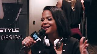 Christina Milian Takes The CELEBRITY BUTT CHALLENGE at CES 2016