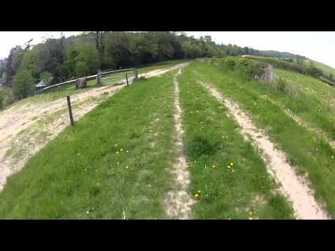 North Downs: Greenhill Shaw to Slines Oak Road
