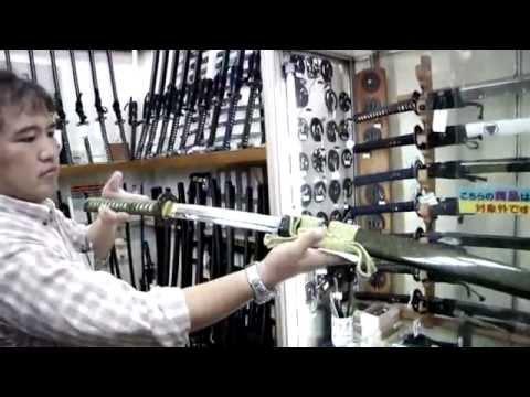 KATANA - Samurai sword in Japan