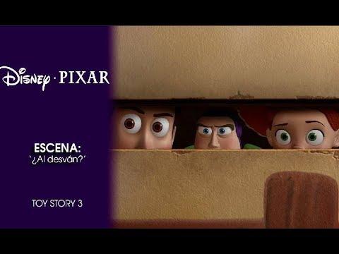 Toy Story 3 Escena Al Desván Disney Pixar Oficial Youtube