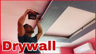 Como hacer un techo flotante en Gypsum Board