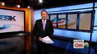 CNN International Desk (Weekend edition)