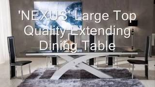 Modern Glass Furnitures