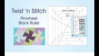 June Tailor Twist N Stitch Ruler Demonstration Video