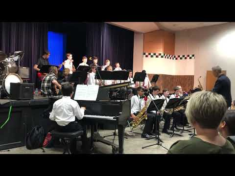 Eagleview middle school jazz band