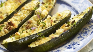 Stuffed Courgette | Stuffed Zucchini | Easy Cook With Atul Kochhar