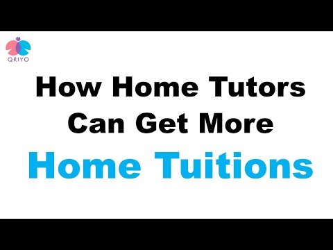 How Home Tutors / Private Tutors can get more home tuitions | Qriyo Guru App