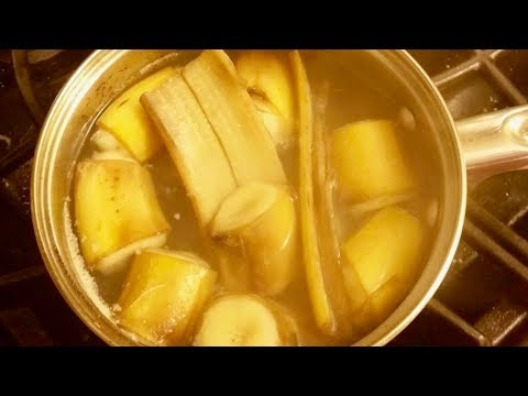 Drink Banana Tea For 7 Days, THIS Will Happen To Your Body!