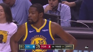 Kevin Durant All Play Time 2019 NBA Finals Game 5 Golden State Warriors vs Toronto Raptors