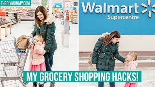 6 GROCERY SHOPPING HACKS for BUSY MOMS