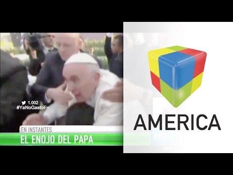 El enojo del Papa Francisco