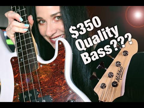 Mitchell TB500 Bass Review/Demo