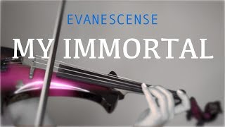 Evanescence - My Immortal for violin and piano (COVER)