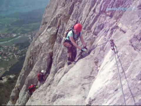 Klettersteig Che Guevara : Via ferrata che guevara youtube