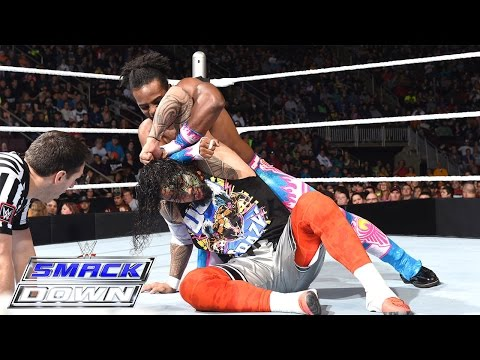 Dean Ambrose & The Usos vs. The New Day: SmackDown, December 3, 2015