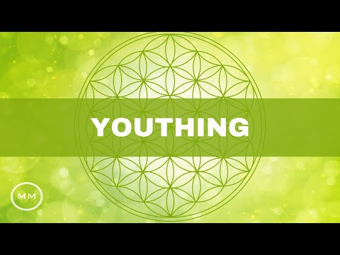 Youthing - Anti Aging / Reverse Aging Process - Binaural Beats - Meditation Music